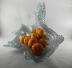 fused glass bowl 001-02