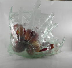 fused glass bowl 002-06