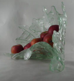 fused glass bowl 002-07