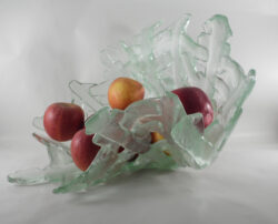 fused glass bowl 002-10