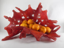 fused glass bowl 003-02