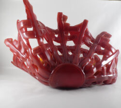 fused glass bowl 003-08