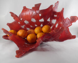 fused glass bowl 003-10