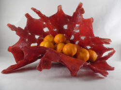 fused glass bowl 003-11