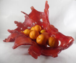 fused glass bowl 003-12