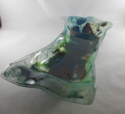 fused glass bowl 009-02
