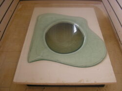 fused glass sink 005-02