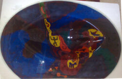 fused glass sink 011-01