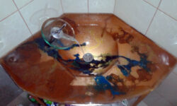 fused glass sink 015-04