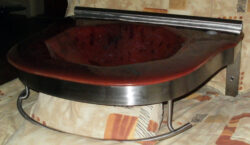fused glass sink 017-02