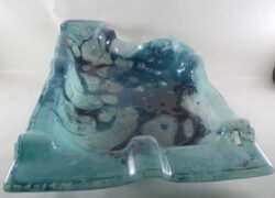 fused glass bowl 004-06